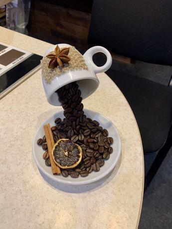 Парящая чашка с кофе, подарок для любителей кофе, декор