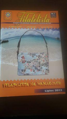 Filatelista miesięcznik nr 7 (1089) Lipiec 2013