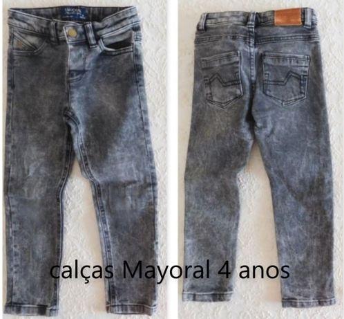 Calças Mayoral (4 anos-104cm)