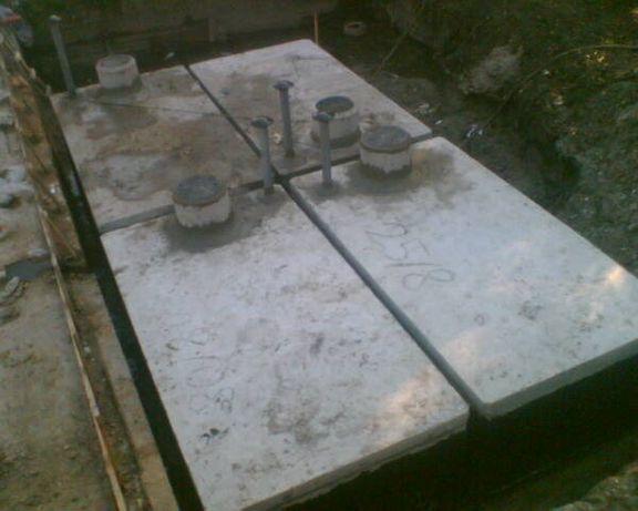 Zbiorniki na Szamba betonowe,zbiornik betonowy na deszczówkę,szambo