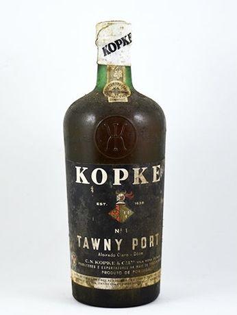 Garrafa de Vinho do Porto, Kopke, Nº 1, Tawny Port, Aloirado Claro – M