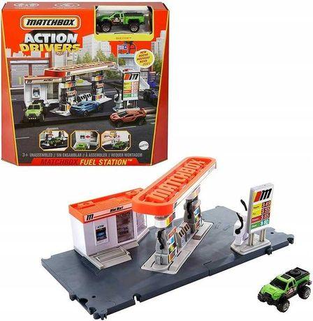 Matchbox Prawdziwe Przygody Stacja paliw Nowy zestaw odbiór/wysyłka