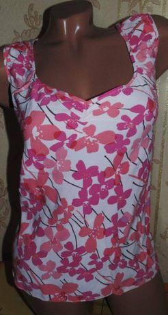 Нарядная майка-блуза,блузка 48-50р