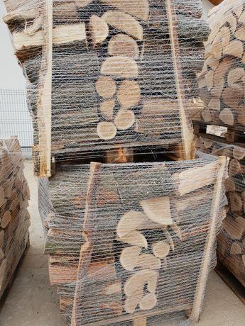 Drewno kominkowe DĄB BUK grab brzoza opałowe