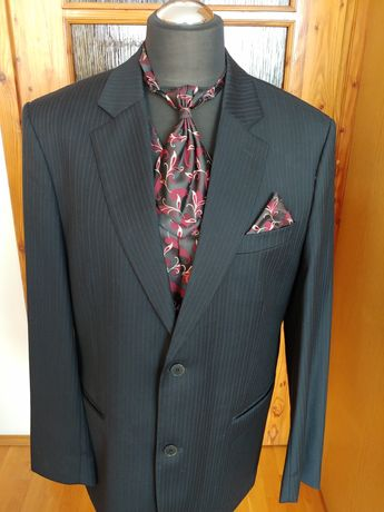 Garnitur kamizelka z krawatem roz. 56/182