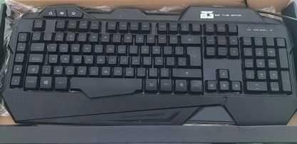 BG Gaming Keyboard Gaming R-Force Retroiluminado