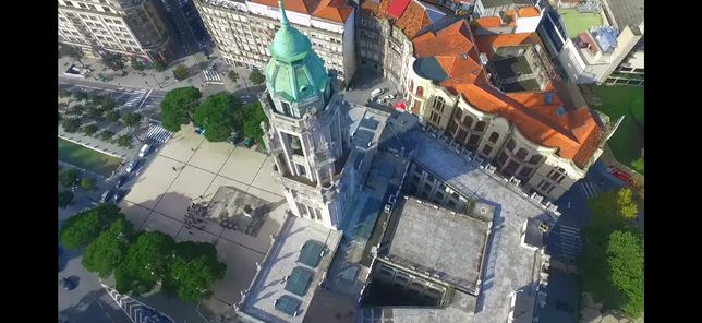 Filmagem de Drone