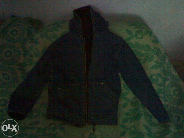 Куртка джинсовая теплая