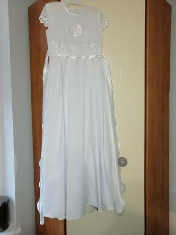 Sukienka komunijna z bolerkiem