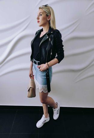 WYPRZEDAŻ Mini spódniczka jeansowa