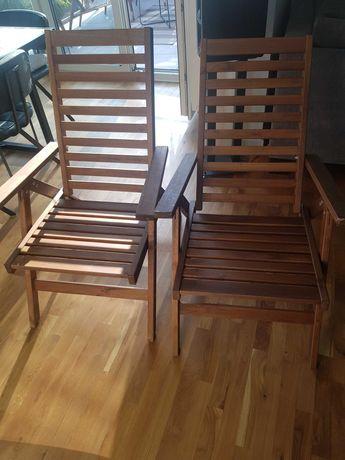 Ikea Applaro krzesło regulowane oparcie brąz 63x80
