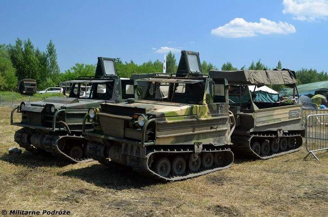 Wynajem pojazdów militarnych