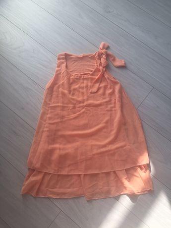 Tunika sukienka ciążowa żakardowa IDEALNA Reservef H&M mama