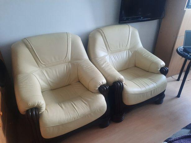 fotel skórzany