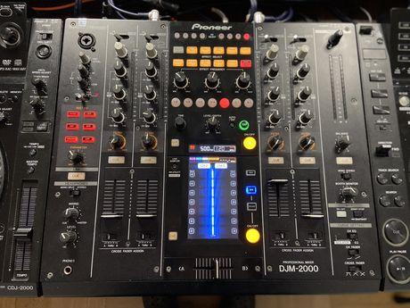 Pioneer DJM 2000 ,Decksaver,cases