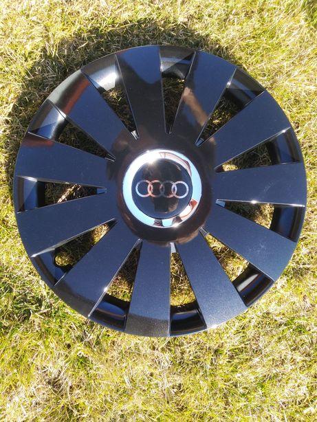 """Kołpaki Audi czarne 16"""" NOWE!"""