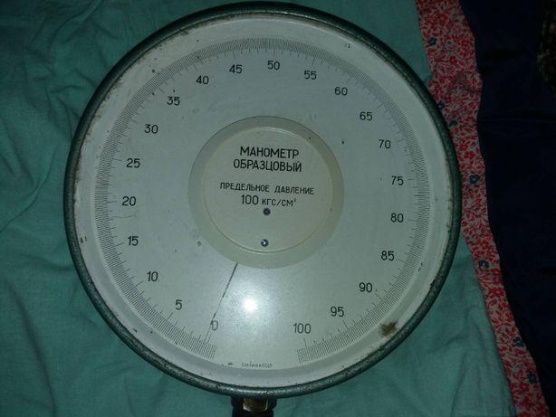 Манометр образцовый 100 кгс/см2