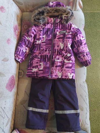 Ленне Lenne комплект полукомбинезон куртка для девочки 104-110р
