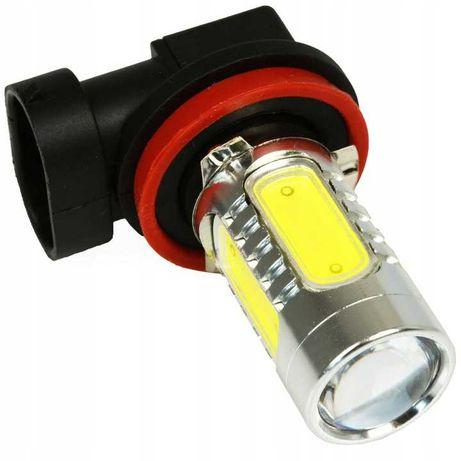 ŻARÓWKA SAMOCHODOWA LED z mocowaniem H8 / H9 / H11 11W DRL Dzienne