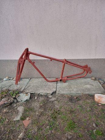 Zabytkowy przedwojenny rower Sachs NSU Wanderer.