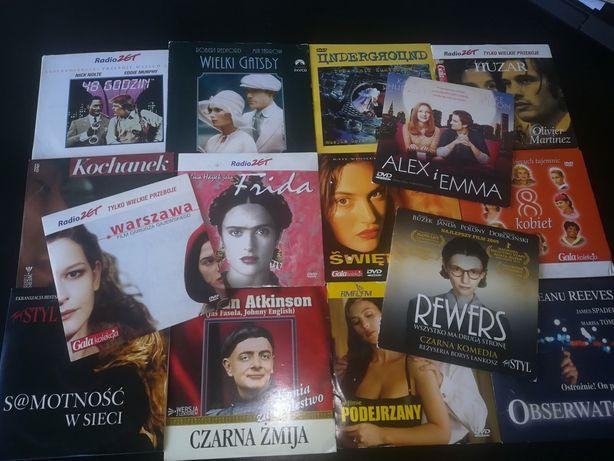 Zestaw filmów DVD 15 sztuk