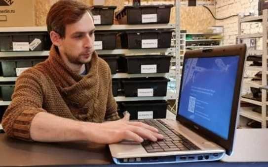 Установка Windows.Ремонт компьютеров и ноутбуков