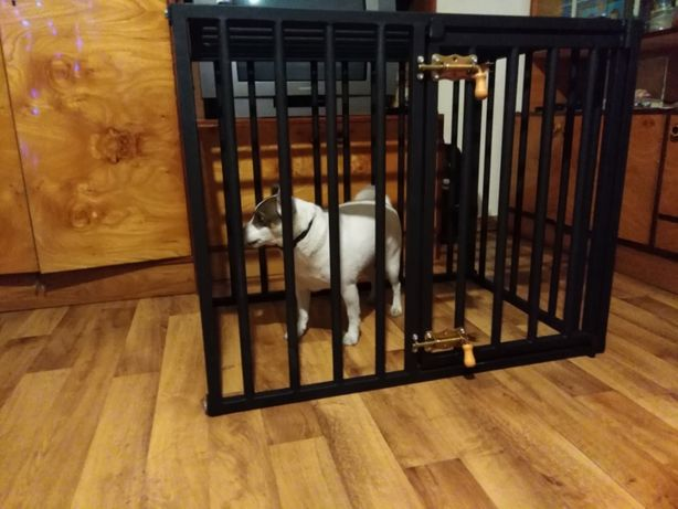 Mała klatka dla psa - wysyłka