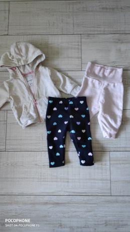 Zestaw markowych ubrań dla dziewczynki