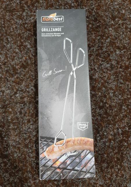 Щипці щипцы для барбекю, гриля 30 см нержавійка Florabest Німеччина
