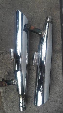 Suzuki VS 1400 wydechy, tłumiki, oryginały