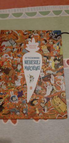 W poszukiwaniu niebieskiej marchewki książka dla dzieci