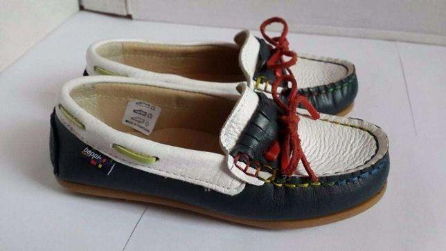 Мокасины, макасины, туфли на мальчика Beppi, р.28 (17,5 см) Португалия