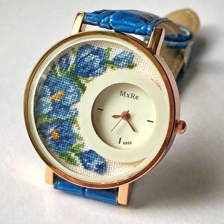 Годинник з вишивкою