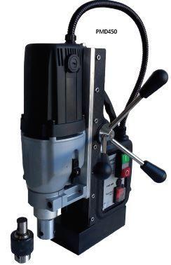 Furadora de Coluna Magnética corte até 45 mm e 13000N adesão magnetica