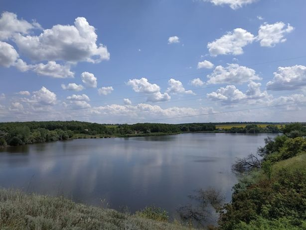 Предлагаю купить дачный участок на берегу ставка в Антоновке.