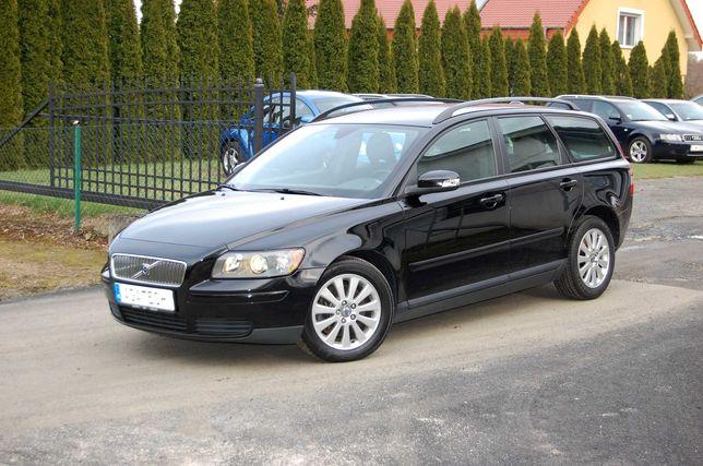 Volvo V50 2.0D 136 KM Klimatronik Elektryka Alu Zarejestrowany