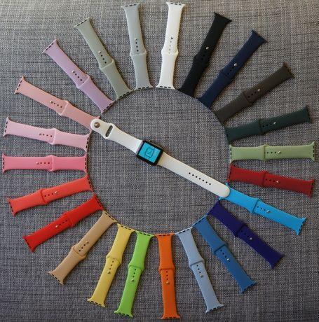 Pasek Apple Watch/ iwatch 42 kolory 38/40/42/44mm/Wszystkie generacje