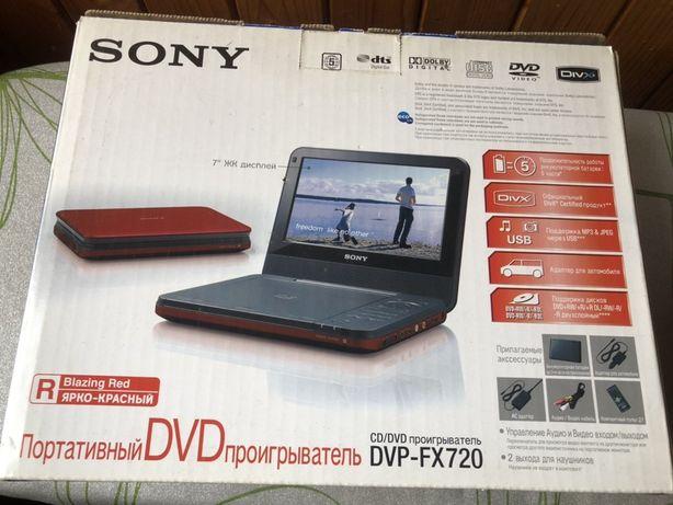 Портативный DVD проигрыватель Sony