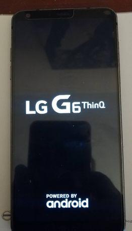 LG G6 THINQ. 4/32 BEZ SIM. Używany, sprawny, etui, pudełko, szkło hart