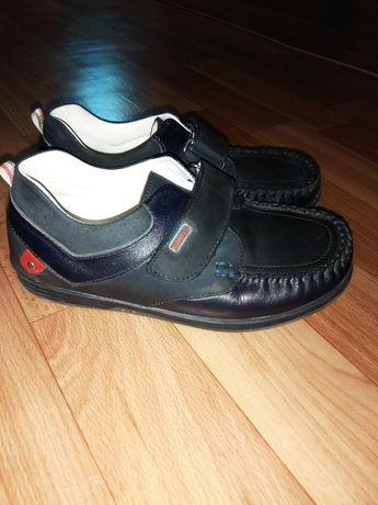 Туфли кожаные 19 см стелька