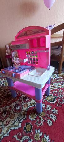 Детская кухня, для девочки. плита