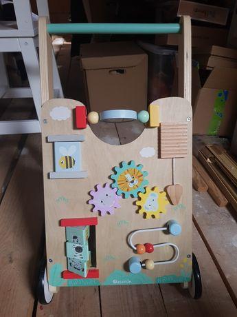 Pchacz, wózek, tablica, zabawka dla dzieci
