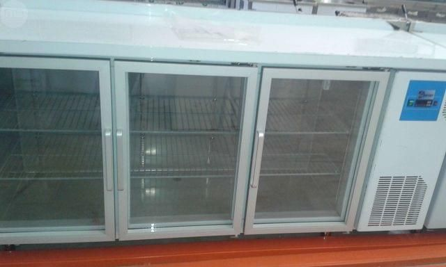 Balcão Expositor Refrigerado 3 portas NOVO