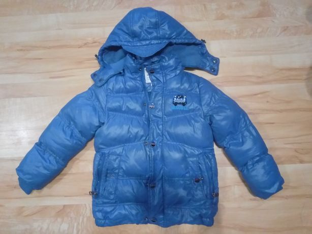 Куртка зимняя на мальчика 5-6 лет