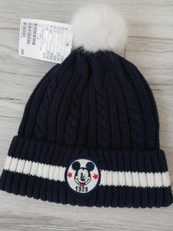 Nowa czapka h&m chłopiec 68/74