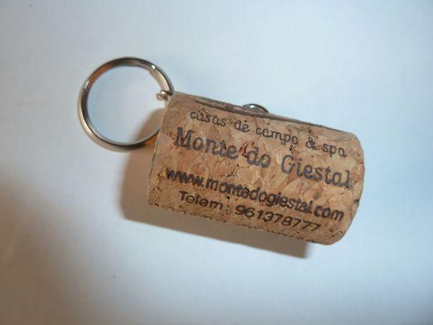 porta chaves em cortiça do Monte do Giestal