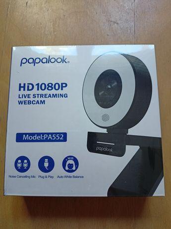 Nowa Kamerka internetowa PAPALOOK PA552 Full HD 1080p