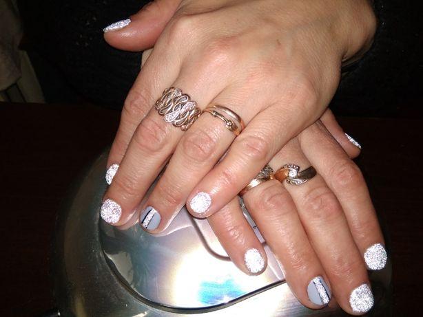 Покрытие ногтей гель лаком, наращивание ногтей