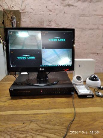 Система видеонаблюдения для магазинов и складов