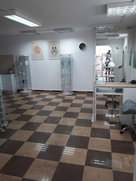 Do wynajęcia lokal po salonie kosmetycznym 92 m2